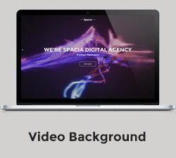 Spacia - One Page Parallax Theme